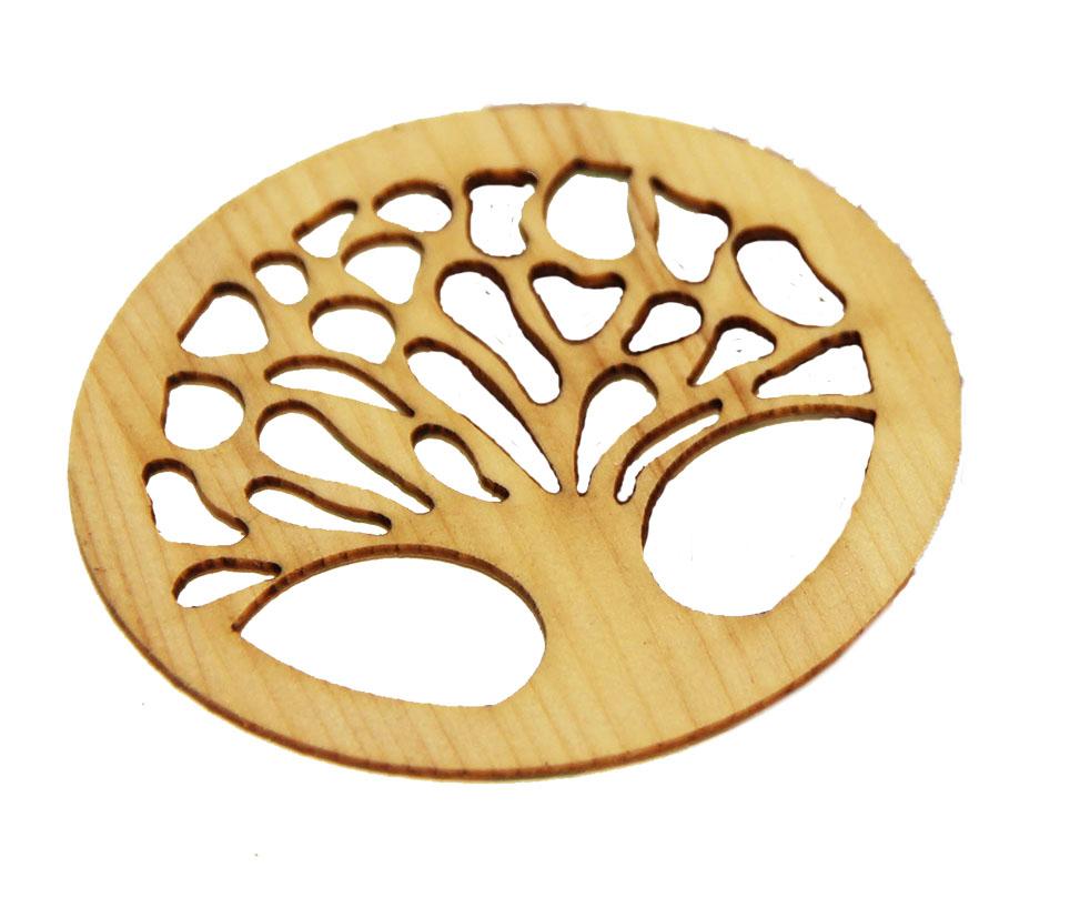 Baum des Lebens mit Klebefolie Zirbe